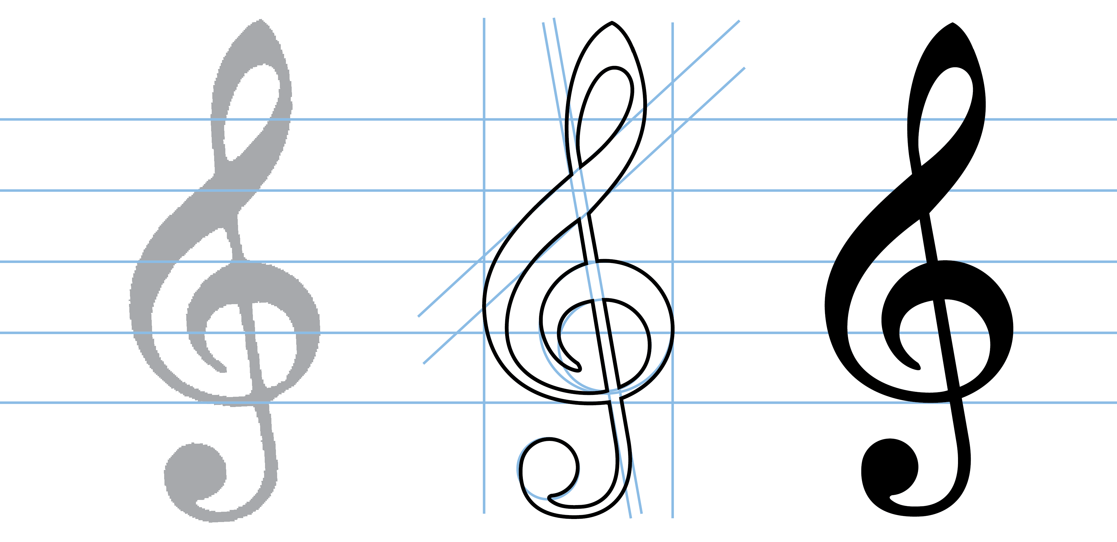 Text Wall Stickers Introducing Bravura The New Music Font Making Notes