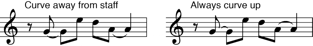 tie-direction-rule