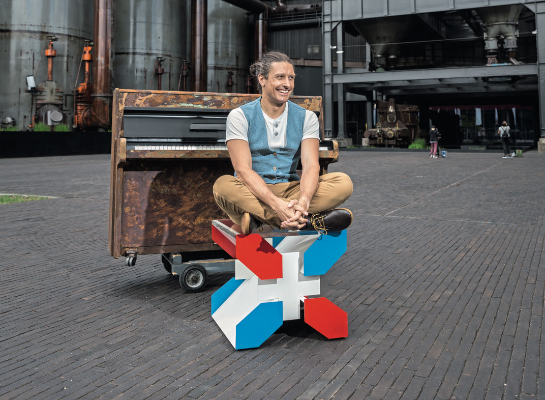 Dorico showcase: pianist-composer David Ianni's My Urban Piano project