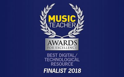 Dorico is a Finalist in the Music Teacher Awards for Excellence!