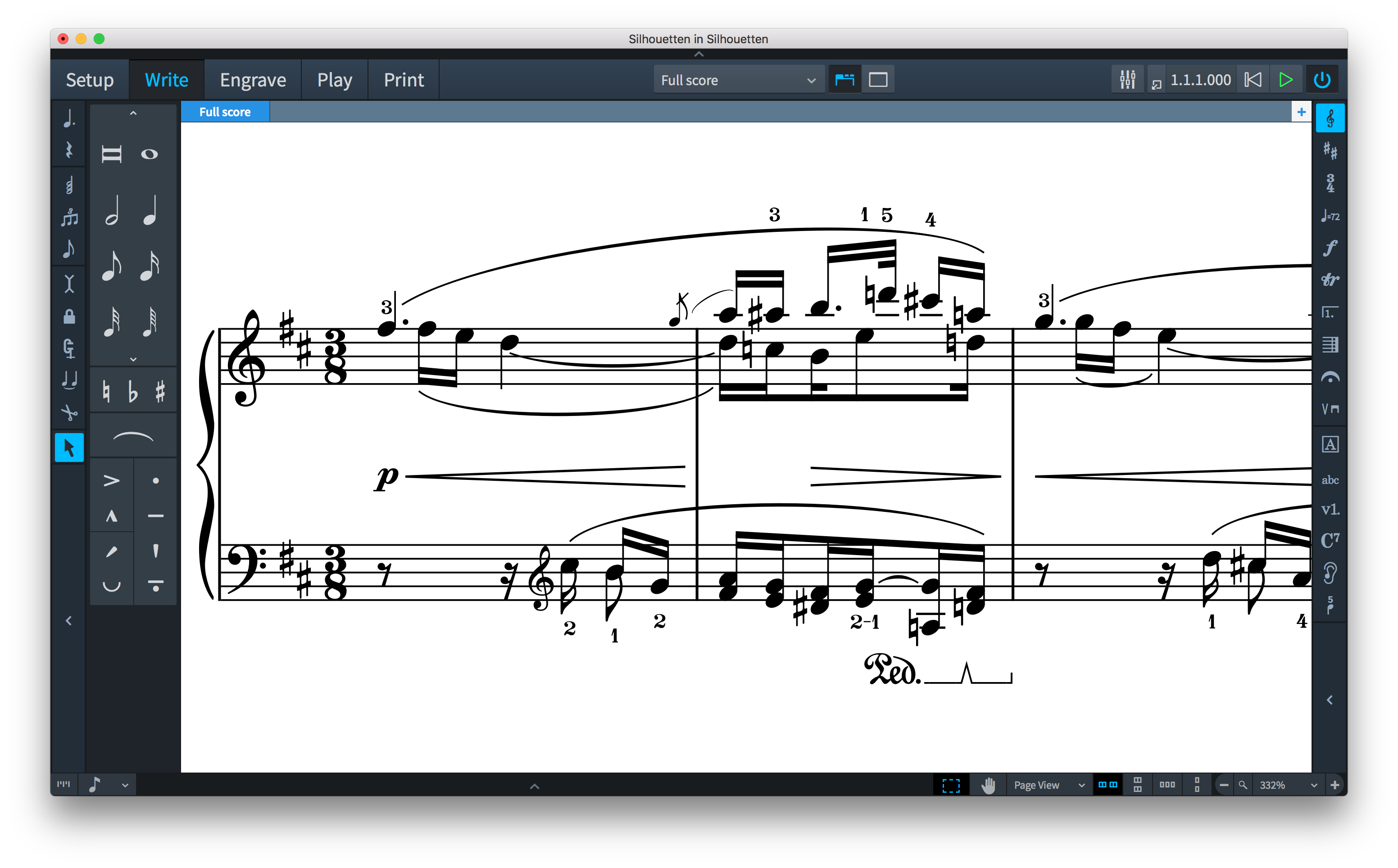 Dorico 1 2 released, with cues, percussion, fingering and more