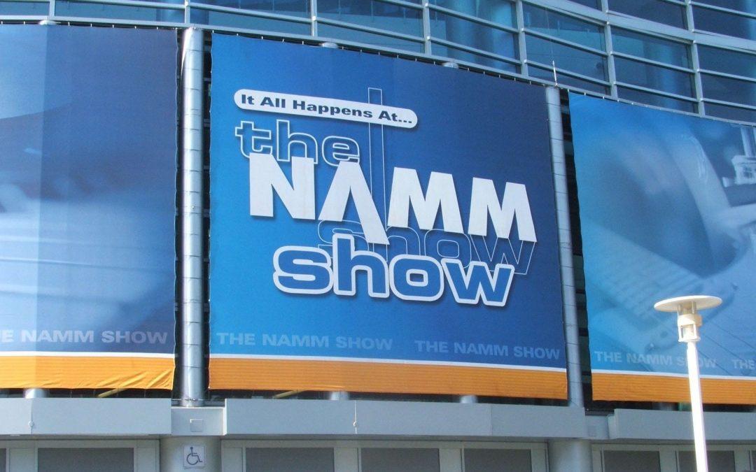 The NAMM Show, in Anaheim, CA