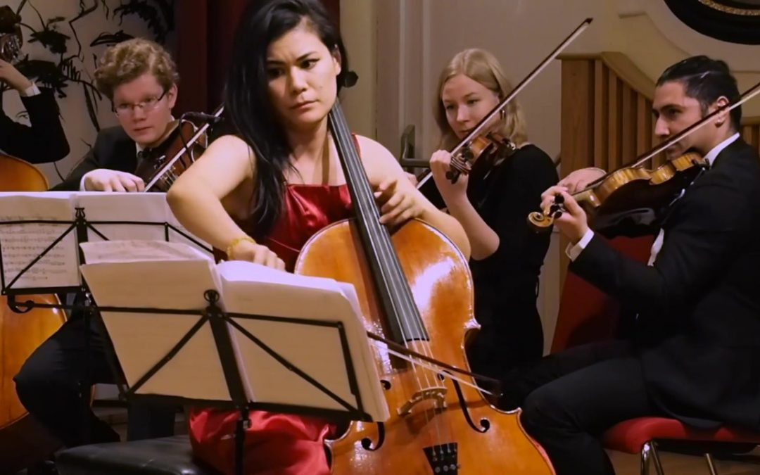 "Dorico Showcase: Gavin Gamboa's cello concerto ""When you come to a fork in the road, take it."""