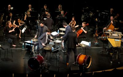 Dorico Showcase: Viet Cuong's percussion quartet concerto Re(new)al