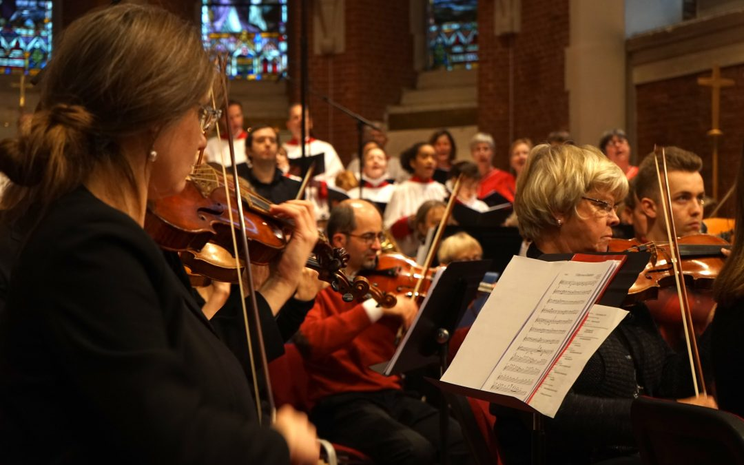 Dorico Showcase: Marching into Christmas at Holy Trinity, Brussels