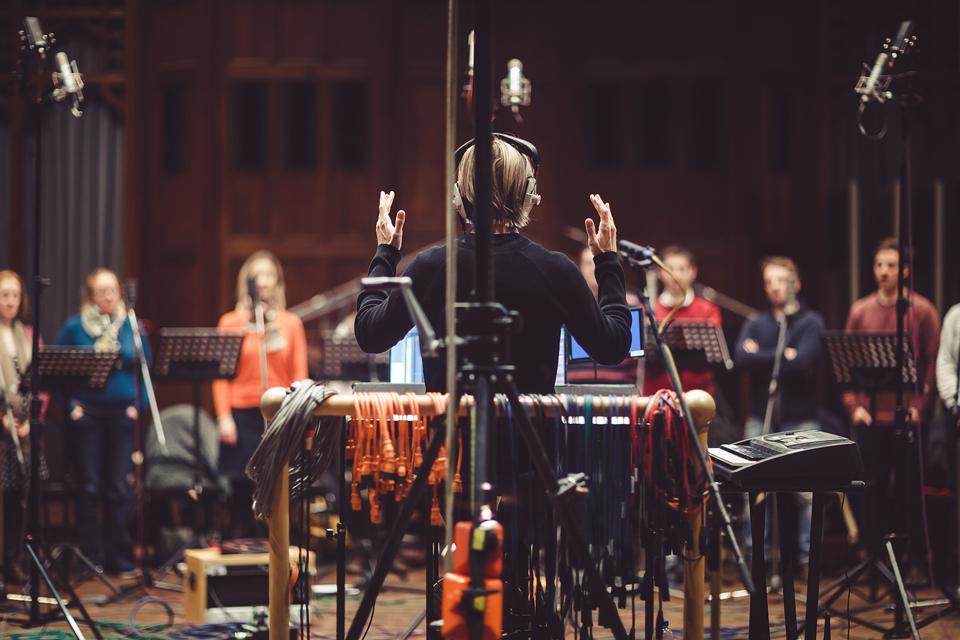 Eric Whitacre Choir playback template for Dorico