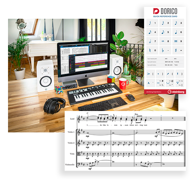 Getting started with Dorico