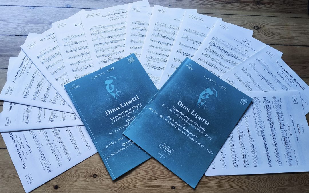 Dorico Showcase: New Enescu and Lipatti editions made in Dorico